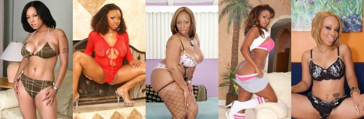 5 ebony porn stars